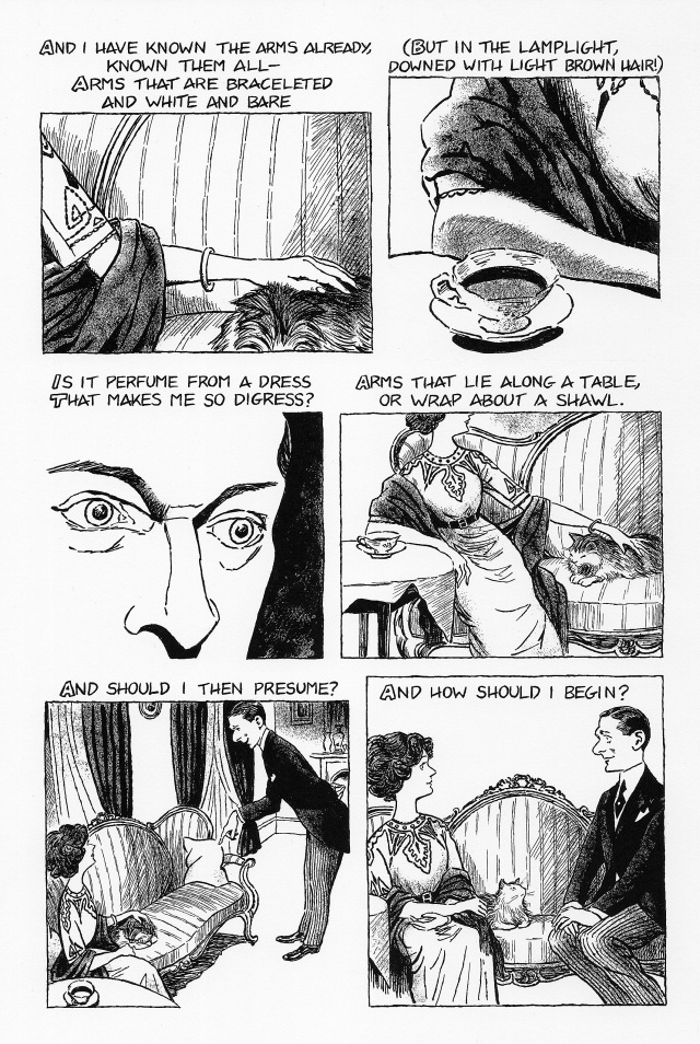 thesis for the love song of alfred j prufrock The love song of j alfred prufrock, commonly known as prufrock, is the first professionally published poem by american-british poet t s eliot (1888–1965.