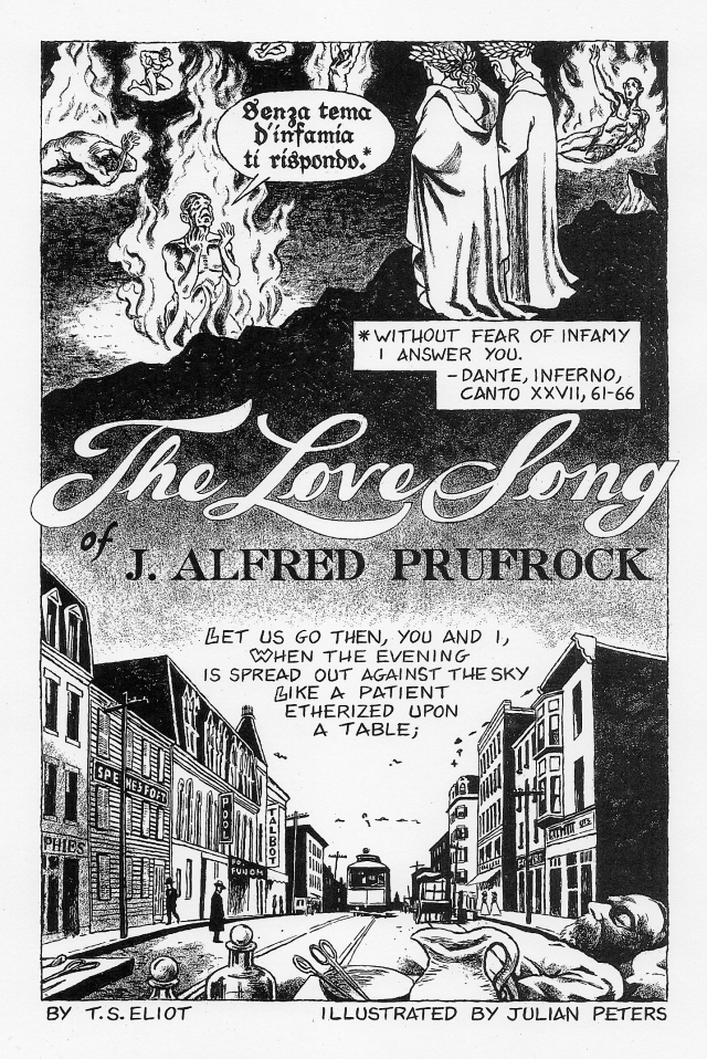 anaylisis of j edgar prufrock This video introduces ts eliot's poem, 'the love song of j alfred prufrock' it outlines the general setup of the poem, its enigmatic lead.