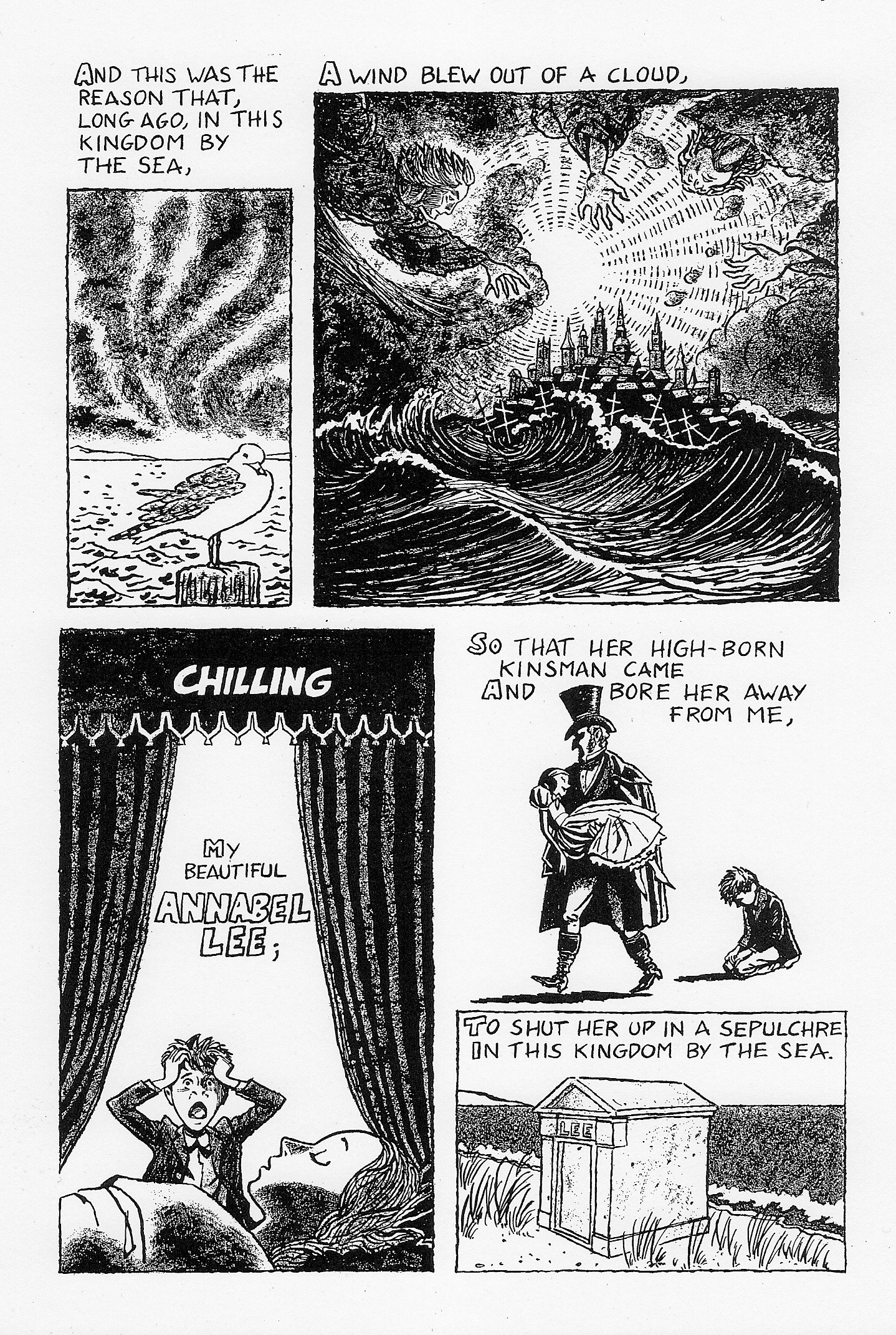 annabel lee worksheet rringband annabel lee by edgar allan poe julian peters comics
