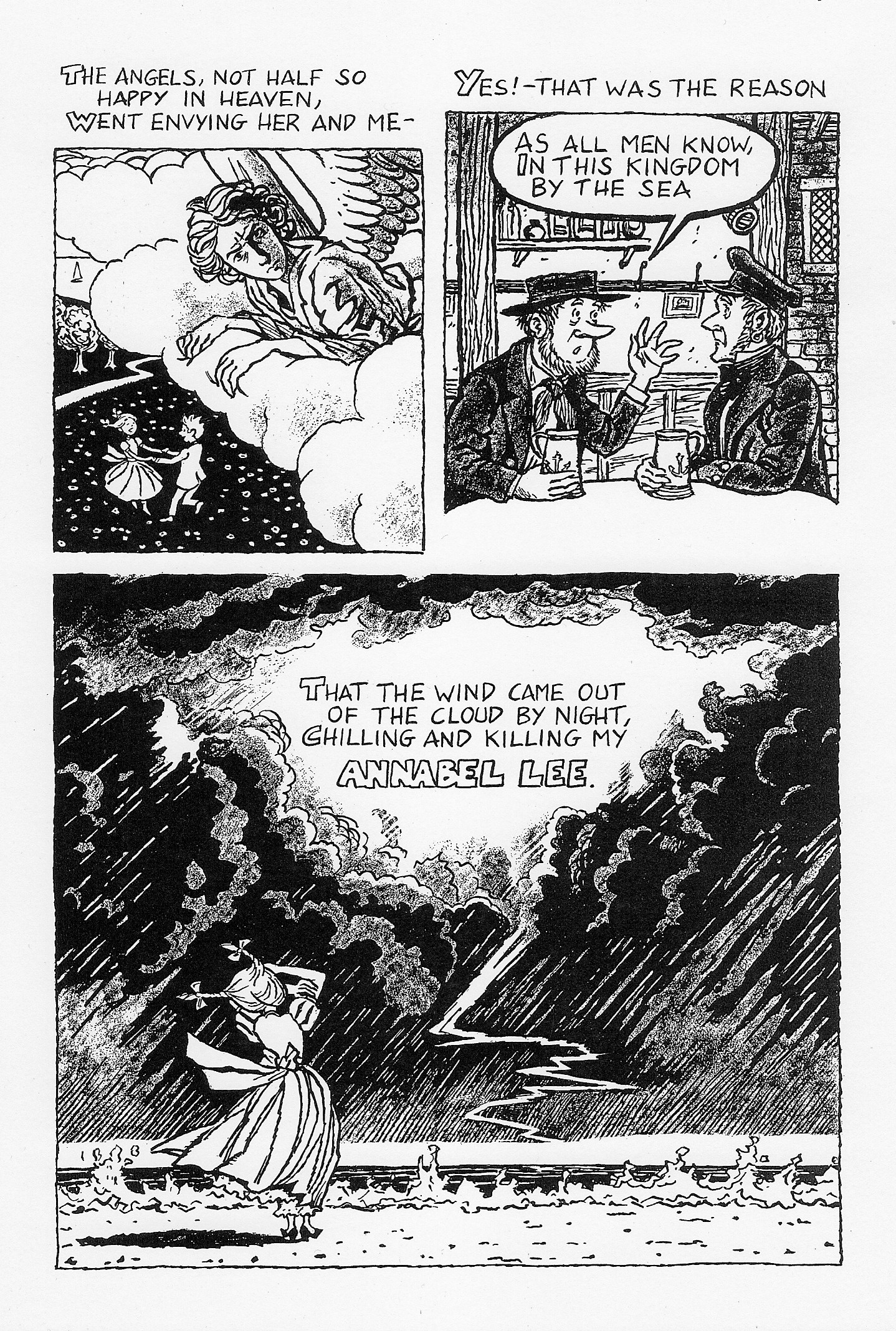 annabel lee by edgar allan poe julian peters comics annabel lee1 annabellee2 annabellee3 annabellee4 annabellee5 annabellee6