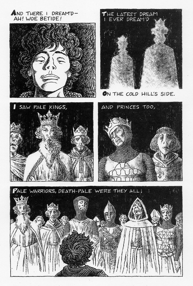 john keats la belle damn sans My comic-book adaptation of the poem la belle dame sans merci by john keats (1819) the originals of some of these drawings were included in the illustrating keats.