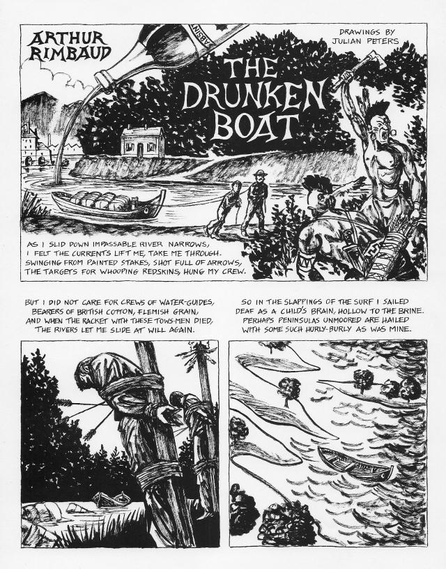 Drunken Boat page 1