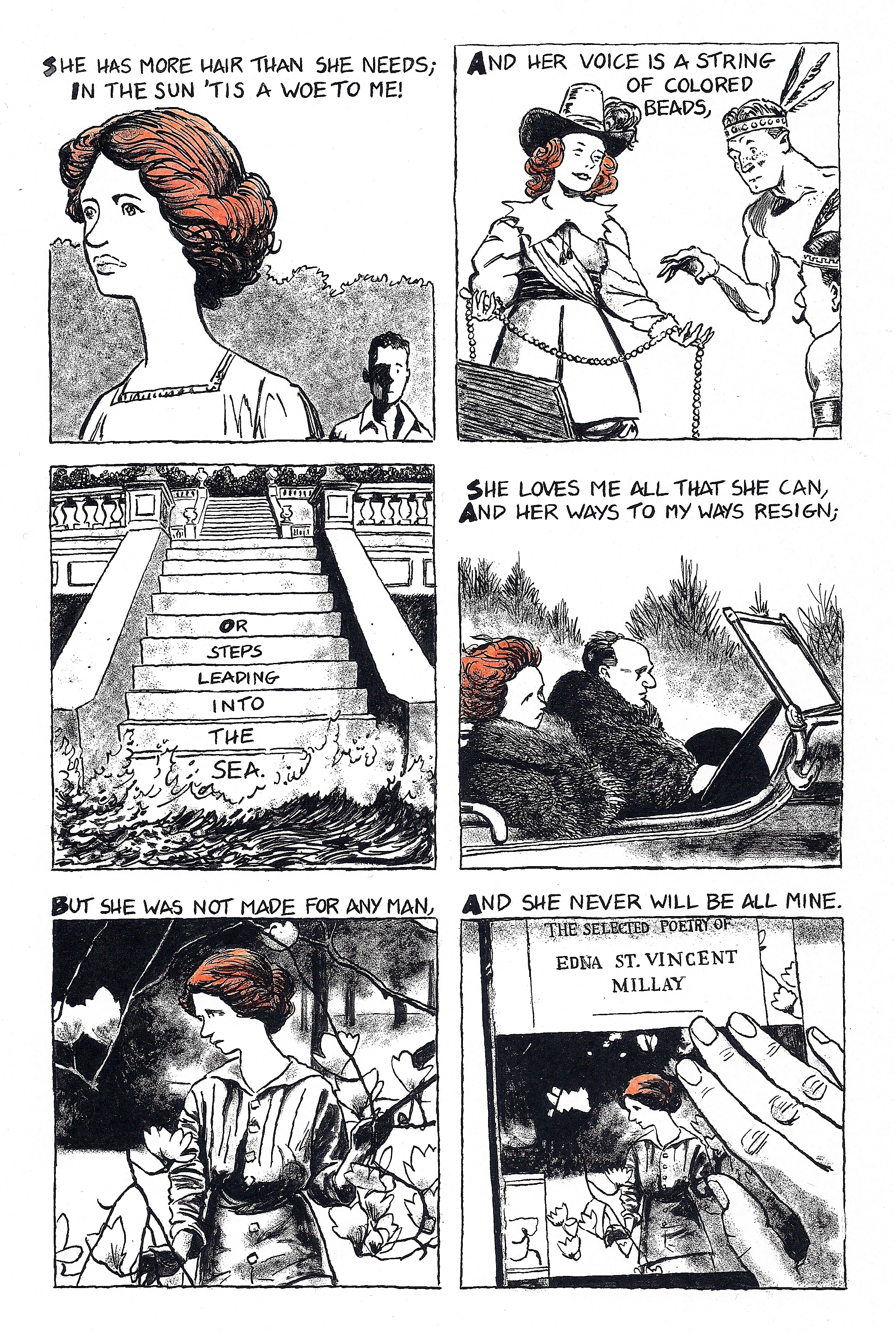 Witch Wife By Edna St Vincent Millay Julian Peters Comics