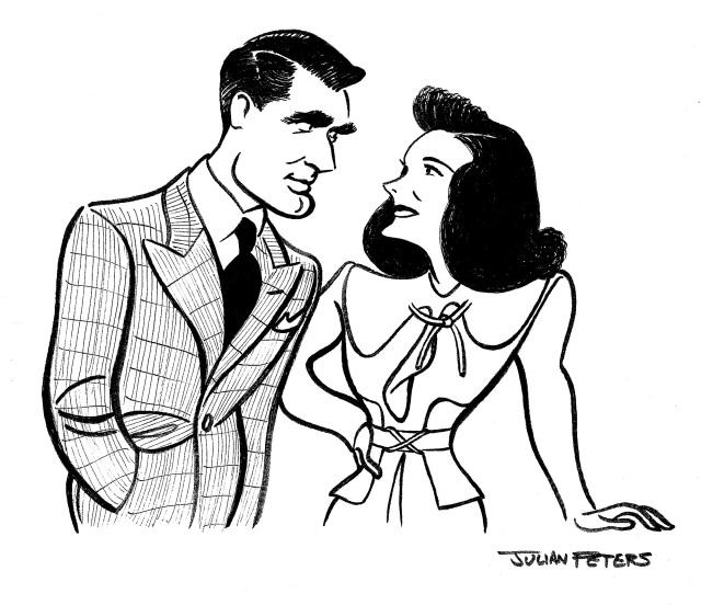 Grant and Hepburn