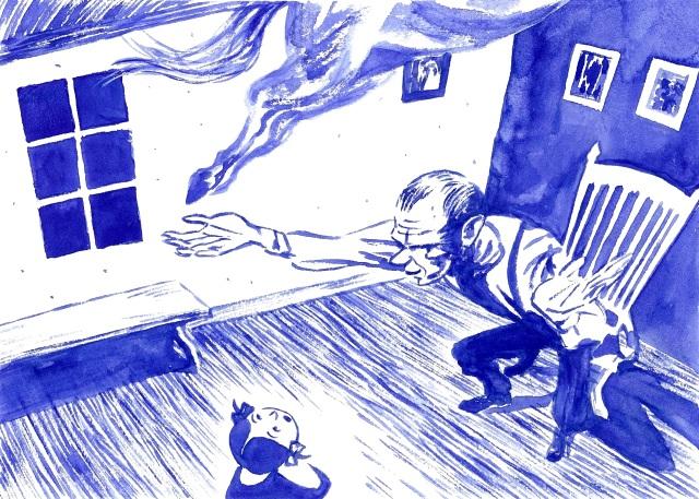 Cheval de bleu 2