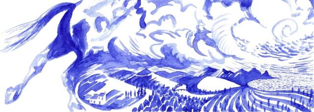 Cheval de bleu 7